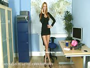 Alex Brown Black Miniskirt Office